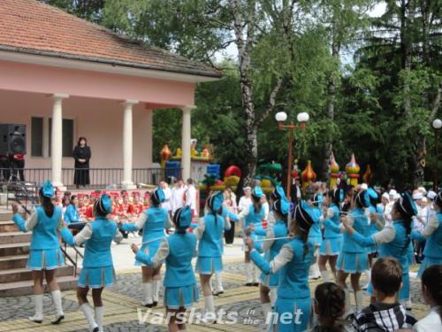 Национален преглед на Ученическите духови оркестри и мажоретни състави - ВЪРШЕЦ 2012 - Вършец