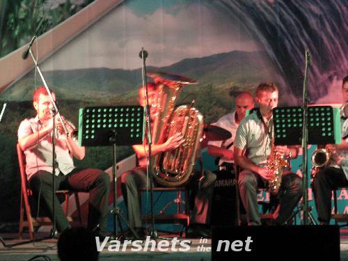Концерт на духова формация 'София брас бенд' - Вършец