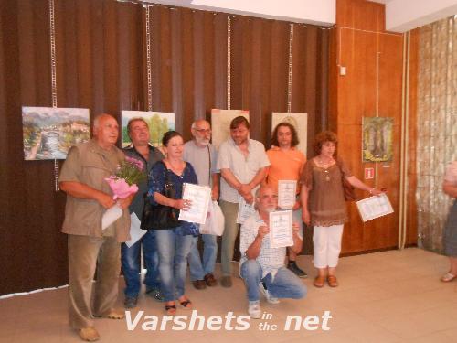 """Пленер по живопис """"50 години град Вършец""""  - Вършец"""