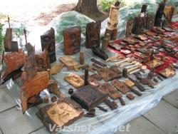 Дърворезби - Вършец