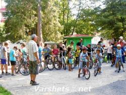 Състезание за деца по майсторско управление на велосипеди  - Вършец